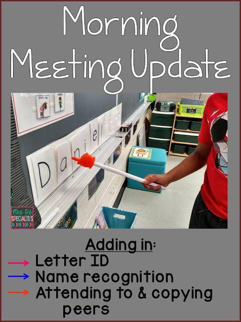 Morning Meeting Update- | Kind
