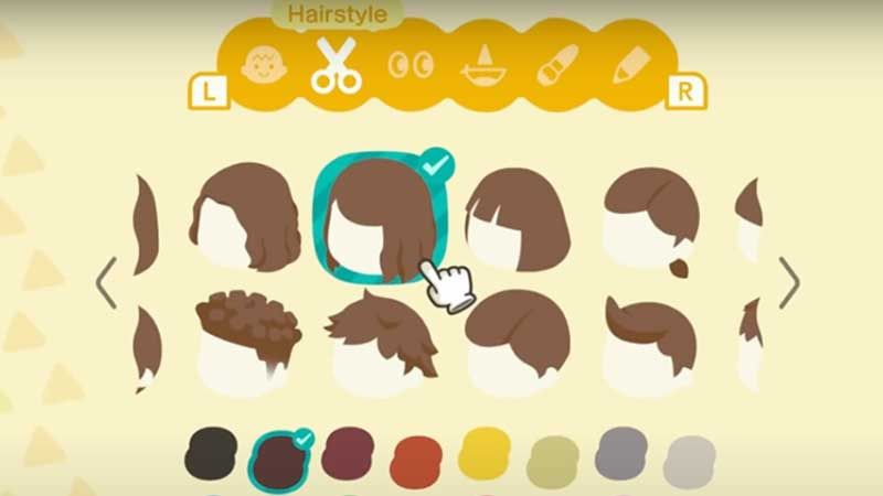 Animal Crossing New Horizons Hairstyles Guide In 2020 Animal Crossing Hair Animal Crossing Hair Guide Hair Guide