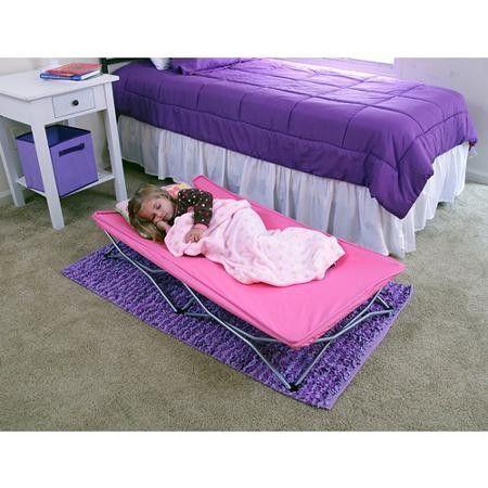 Kids Sleeping Mat Toddler Bedding On The Go Folding Slumber Portable Travel Cot