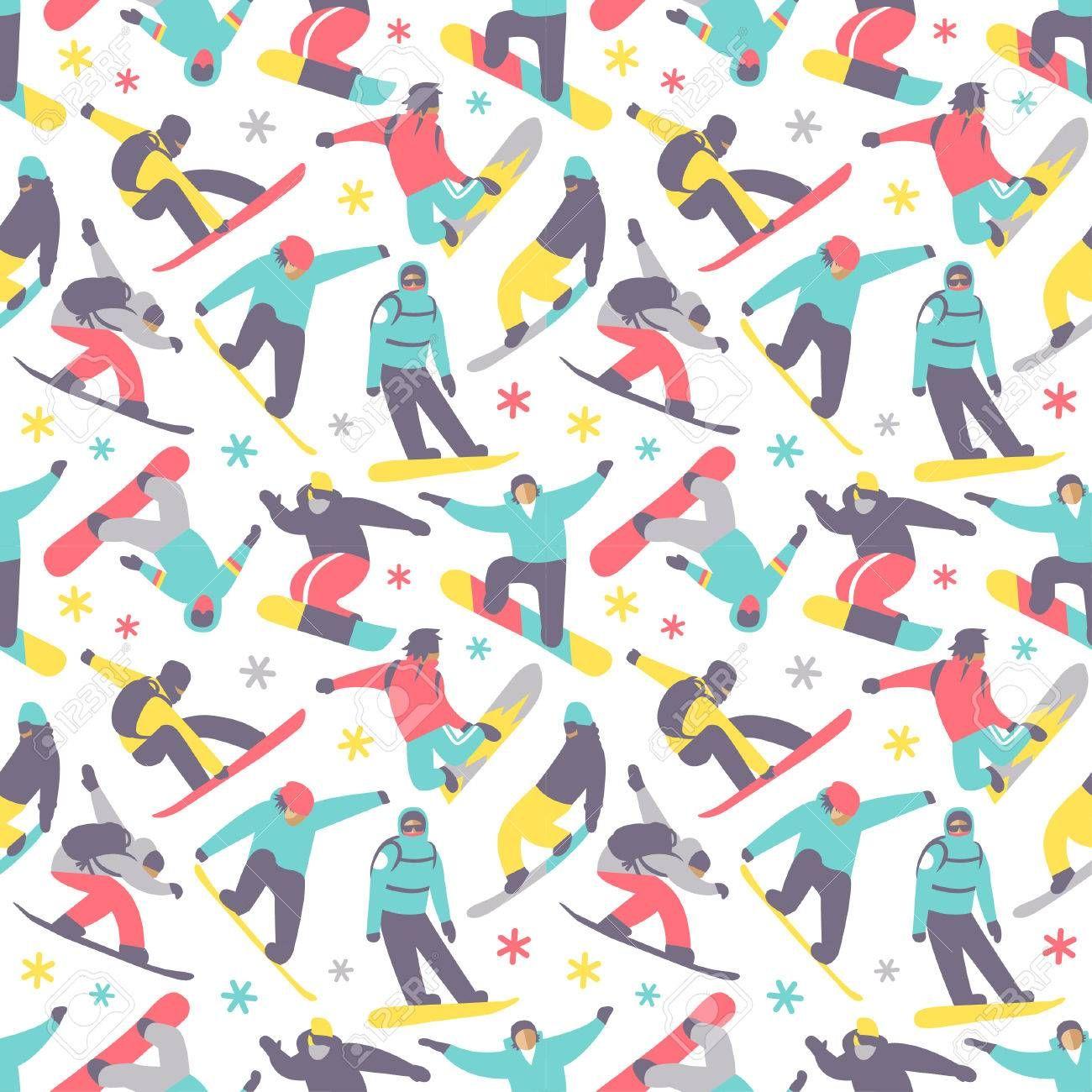 Snowboard Pattern