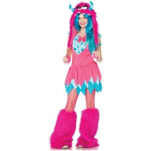 Cute Monster Costume For Girls Halloween costumes Pinterest - halloween ideas girls