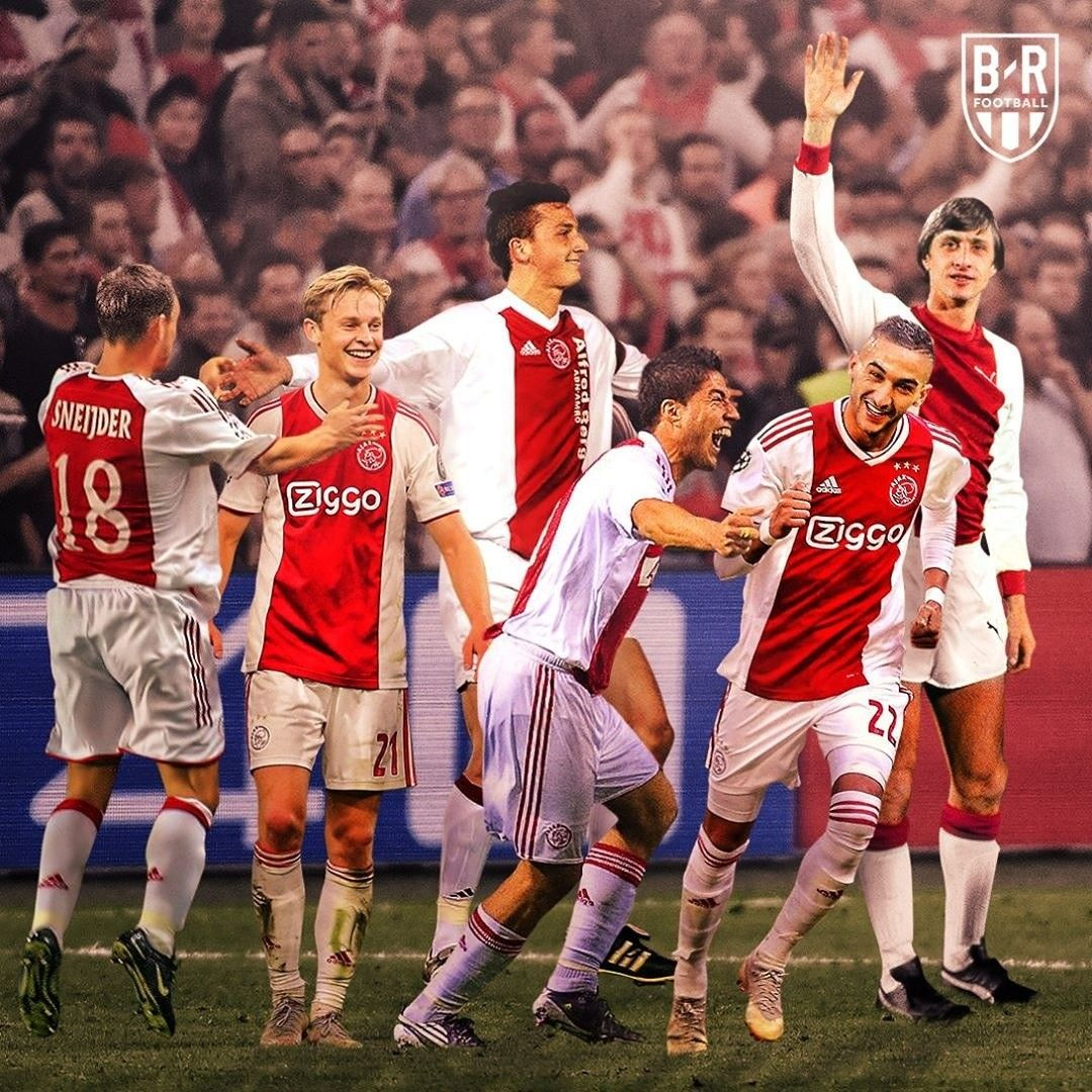 Uefa Champions League Ajax Amsterdam with a performance
