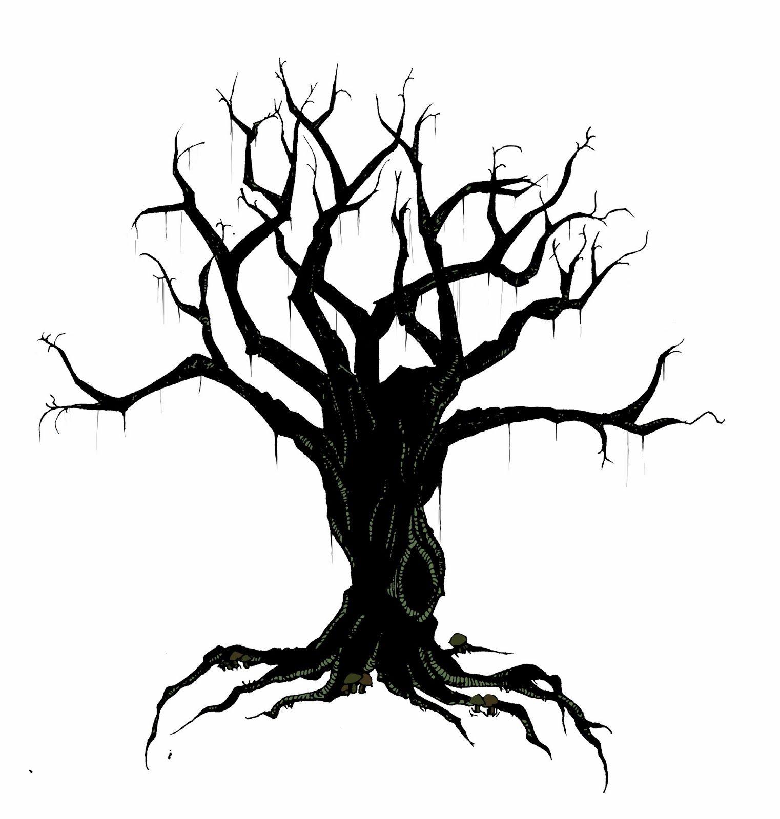 creepy bird in tree silhouette creepy tree [ 1522 x 1600 Pixel ]