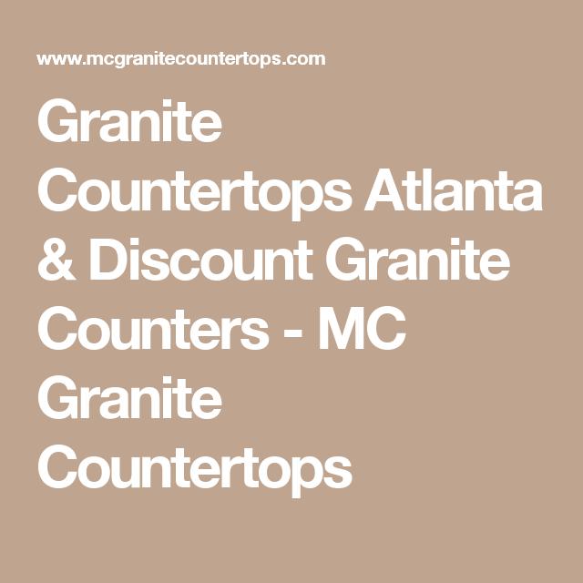 Granite Countertops Atlanta U0026 Discount Granite Counters   MC Granite  Countertops