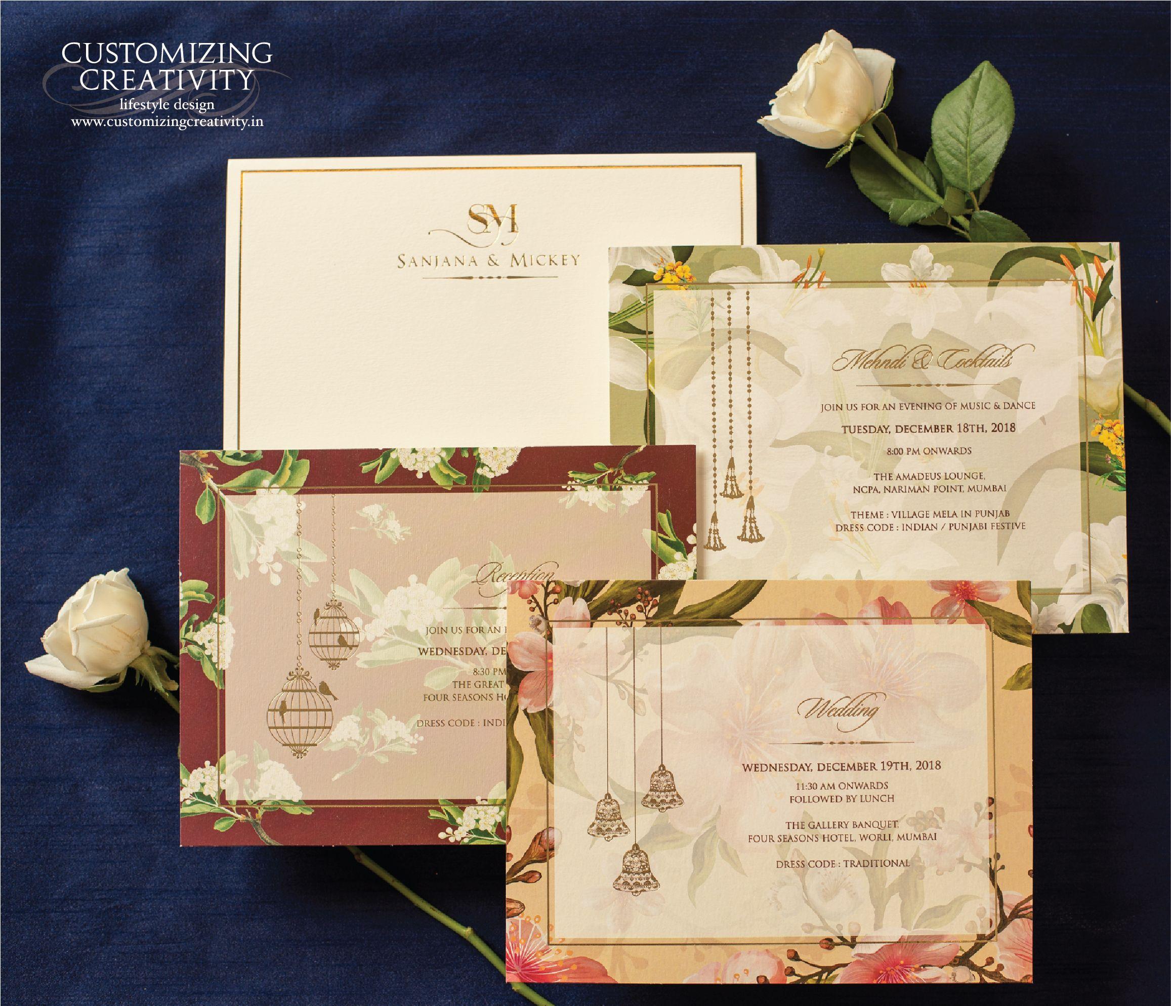 Wedding Invitations Wedding Logo Wedding Invite Wedding Stationery Custom Wedding Invite Invite Simple Wedding Cards Indian Wedding Cards Wedding Cards
