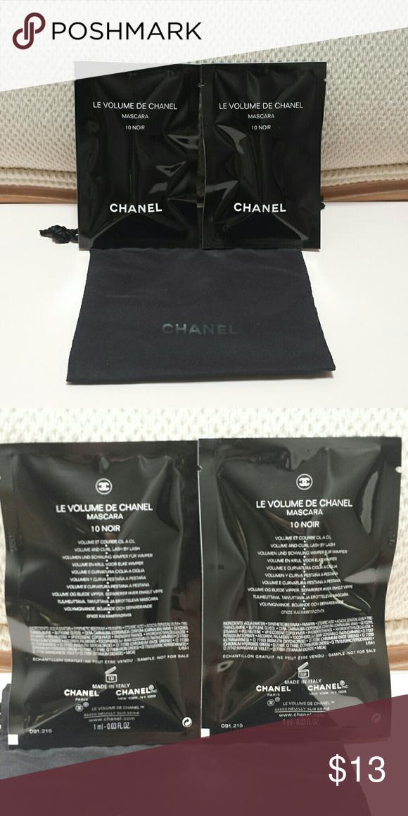 07550409c6e Le Volume DE Chanel Mascara Listing is for TWO mascara each are .03 oz.