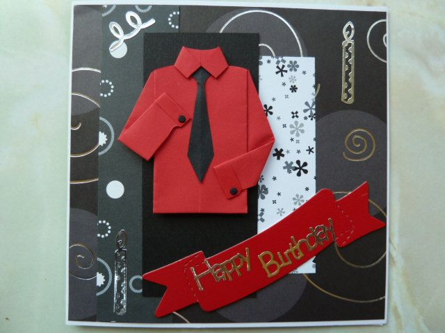 Card Making Male Ideas Part - 40: Gallery For U003e Homemade Birthday Card Ideas For Men