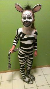 Zebra Kostüm Selber Machen Diy Anleitung Rey León