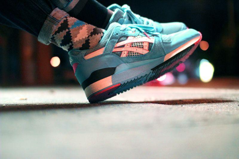 sneaker freaker asics desert rose