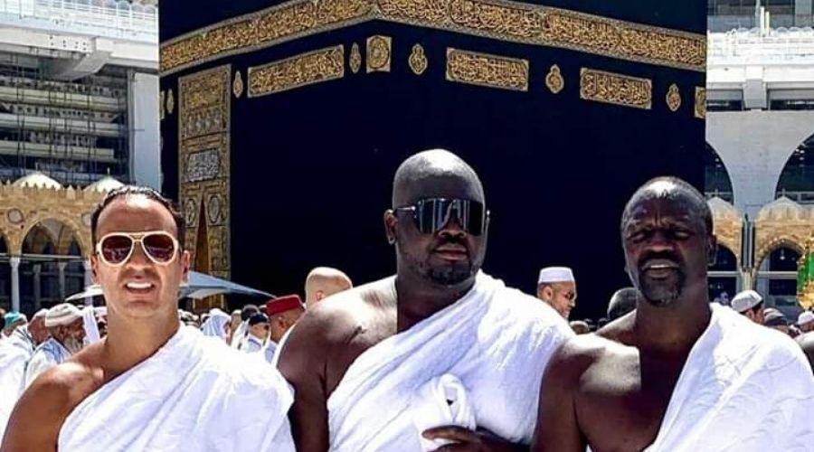 Us Rapper Akon Performs Umrah In Makkah Saudi Arabia In 2020