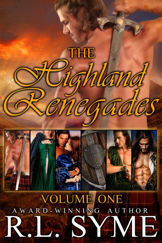 Great stocking stuffer! Get $25 worth of books for $4.99 in the new Highland Renegades boxed set series.