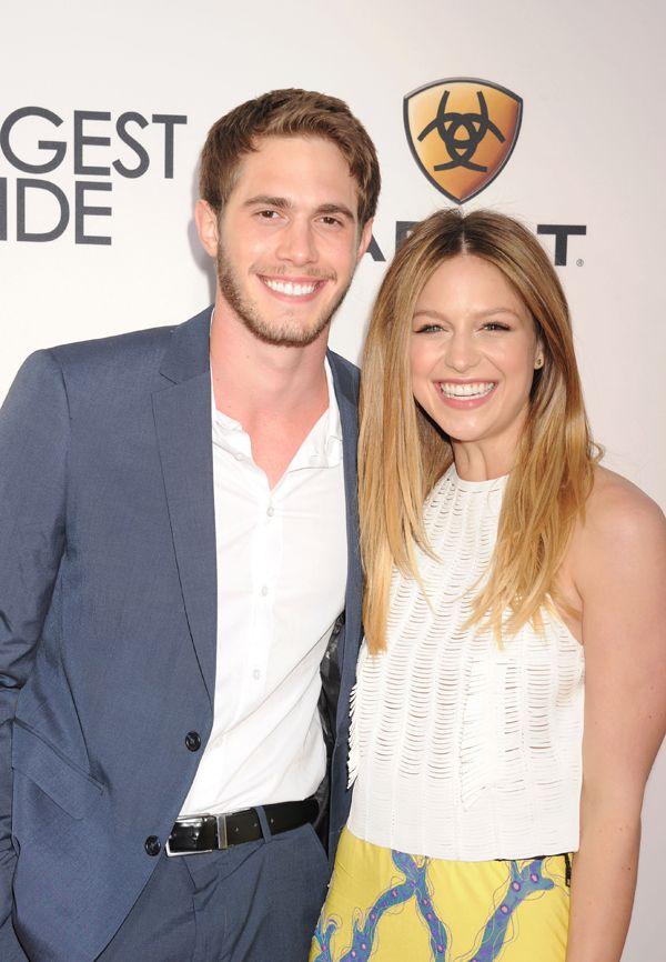 Glee Reunion Melissa Benoist S Real Life Husband Blake Jenner Heading To Supergirl Blake Jenner Melissa Benoist Supergirl