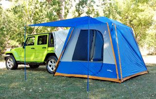 Jeep Commander tent - I would love this! & Jeep Commander tent - I would love this! | Favorite Places ...