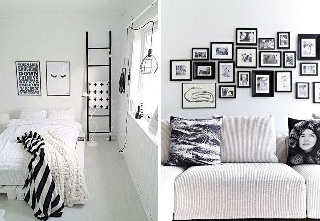 Conseils déco pour un salon blanc total look - Made in meubles