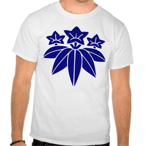 the family crest of the Minamoto Tshirt