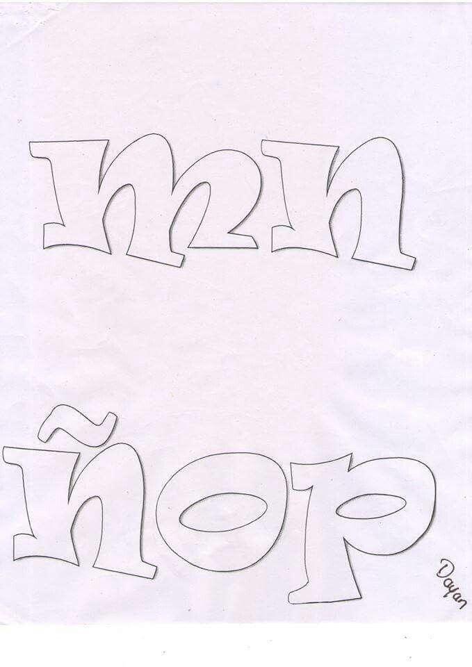 Pin de Claudia Ramirez en letras varias (con imágenes
