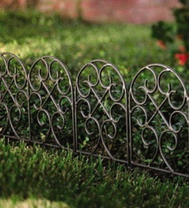 Exceptionnel The Visual Garden Border Fencing Collection: Garden Border Fencing Panels ~  Virtualhomedesign.net Home And Garden Inspiration