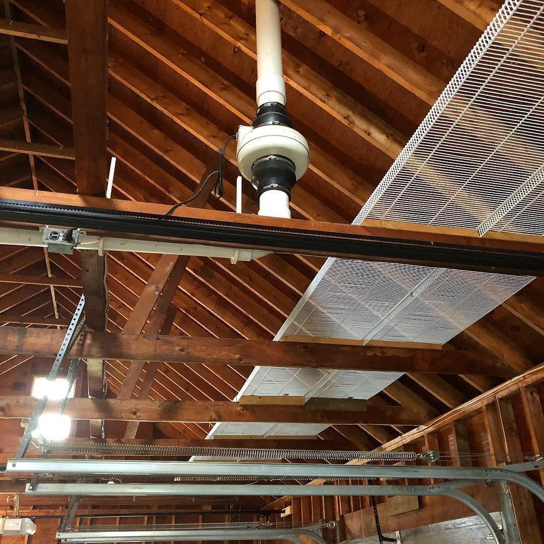 Garage Radon Mitigation System buffalony williamsvilleny