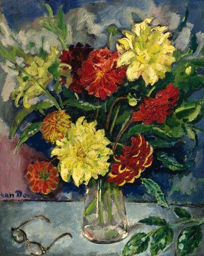 Kees van Dongen, Le bouquet de dahlias