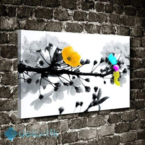 BW Renk Çiçek Tablo #kanvas_tablo #siyah_beyaz_tablolar #siyah_beyaz_kanvas_tablolar