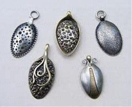 Smykker av gamle sølvskjeer