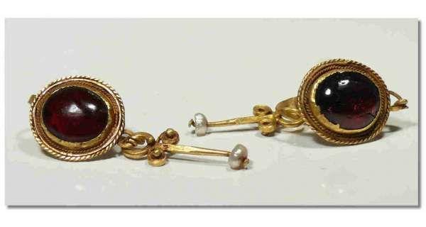 boucles d'oreille romaine
