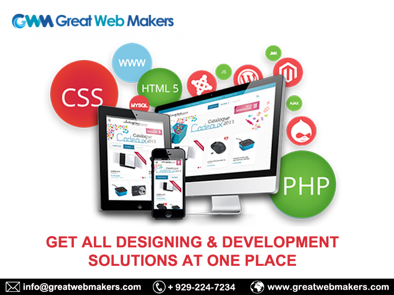 Greatwebmakers Is The Bestwebdesigning Developmentcompany Florida Who Is Offering T Personal Website Design Website Design Company Web Development Design