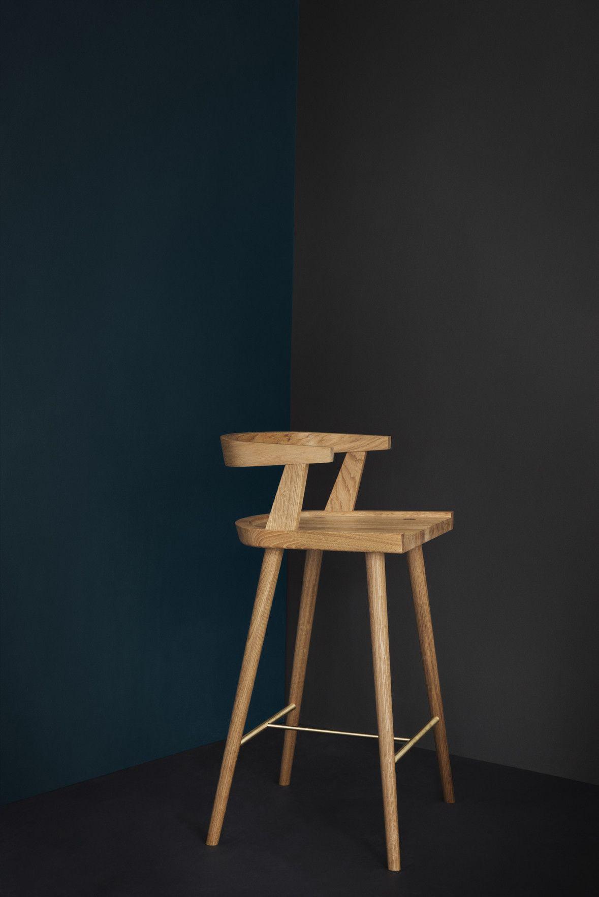 Kbh High Chair Oak Kitchen High Chairs Chair Wood Chair