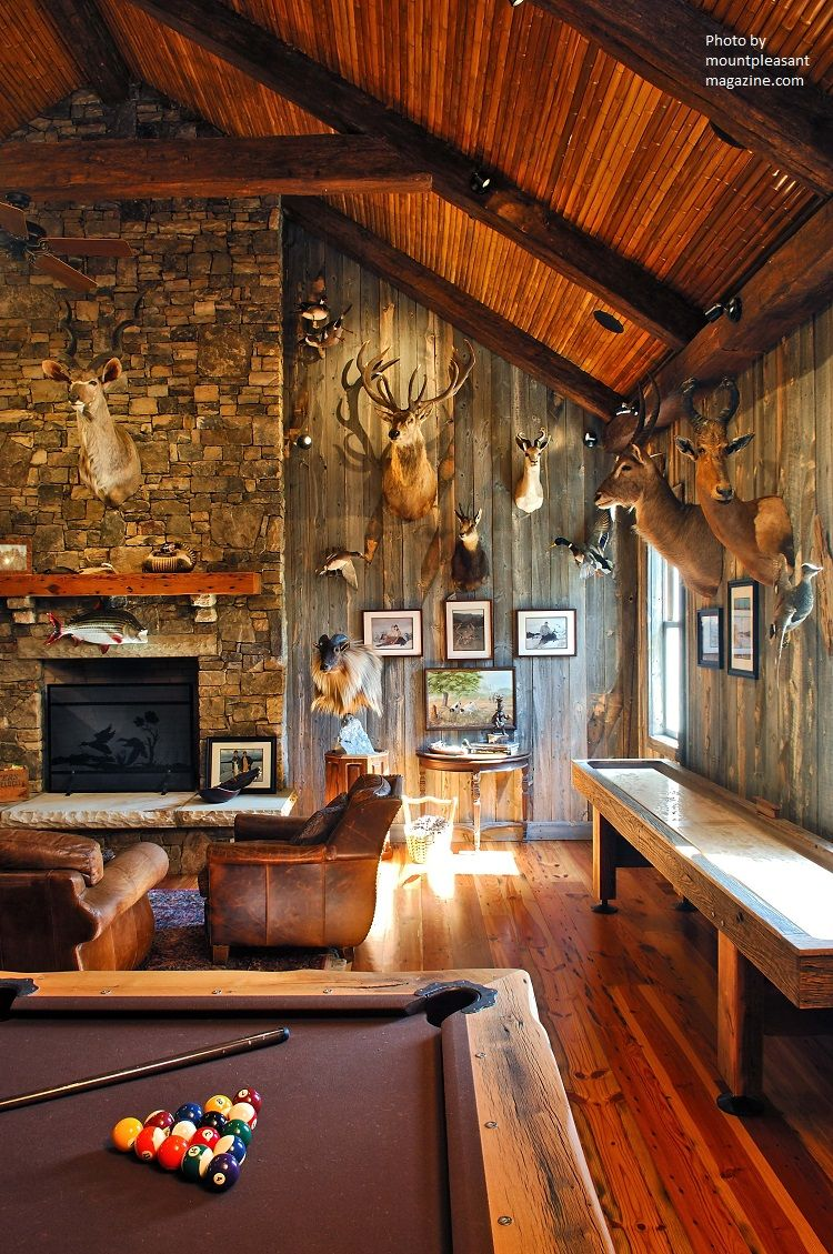 ultimate basement man cave. From The Deer Heads, Exposed Brick And Re-purposed Wood Paneling This Man Cave Ultimate Basement A