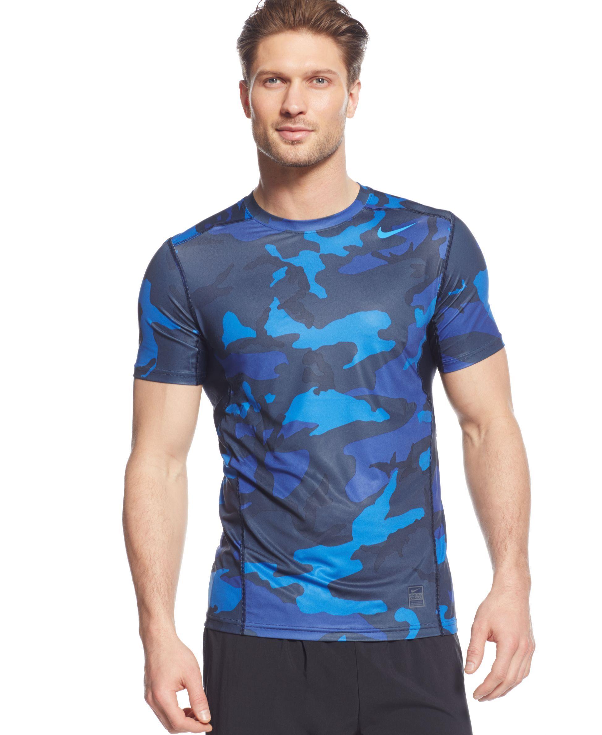 Nike Hypercool Dri-fit Camo T-Shirt