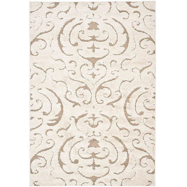 Safavieh Florida Collection Cream And Beige Area Rug 8 Feet 6 Inches By 12 X