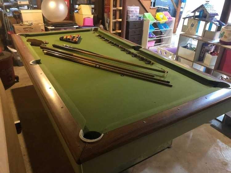 Billiards Pool Your Rack Cornhole game decal wrap set