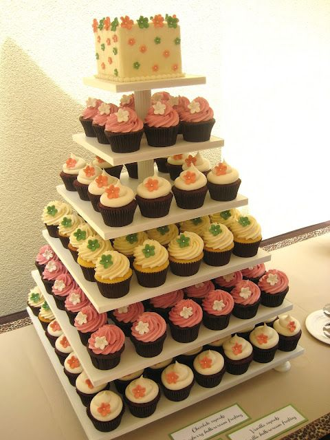 What a beautiful tower of yumminess!