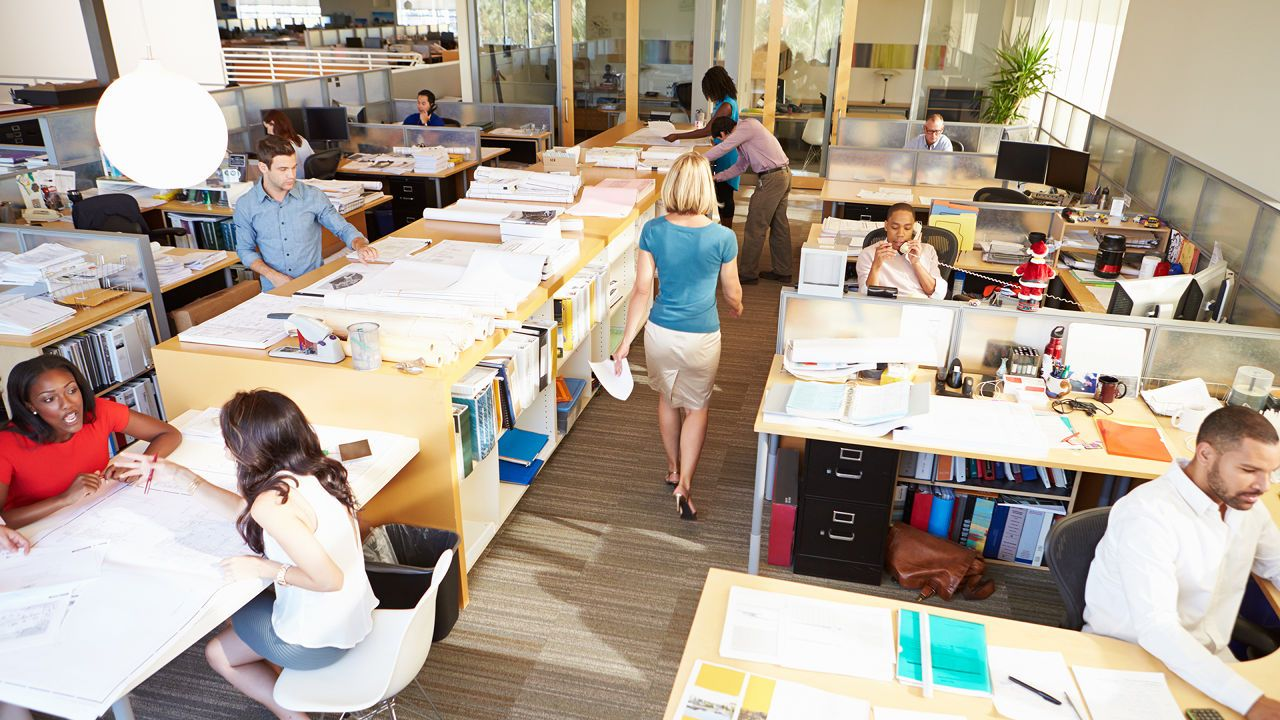 The open concept does it make you nervous office feng shui