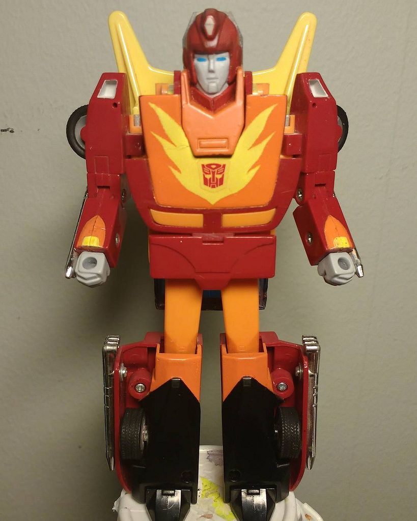 Custom action figures by Stolf - Transformers Hot Rod