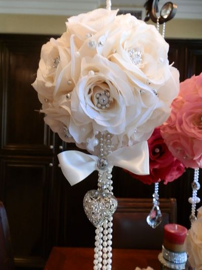 Blin Home Decorating Ideas | Bling Wedding Centerpieces on Bling ...