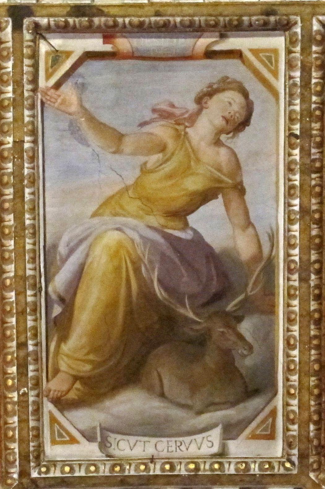 Santi di Tito e Tiberio Titi - Santi: doni dello spirito santo - Cappella Serragli - Basilica di San Marco, Firenze