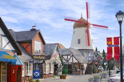 Solvang, CA.  Highly recommend visiting.  Amazing little town in the vineyards of Santa Barbara Wine Country.