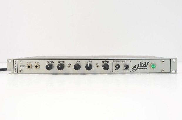 aguilar db659 tube bass preamp db 659