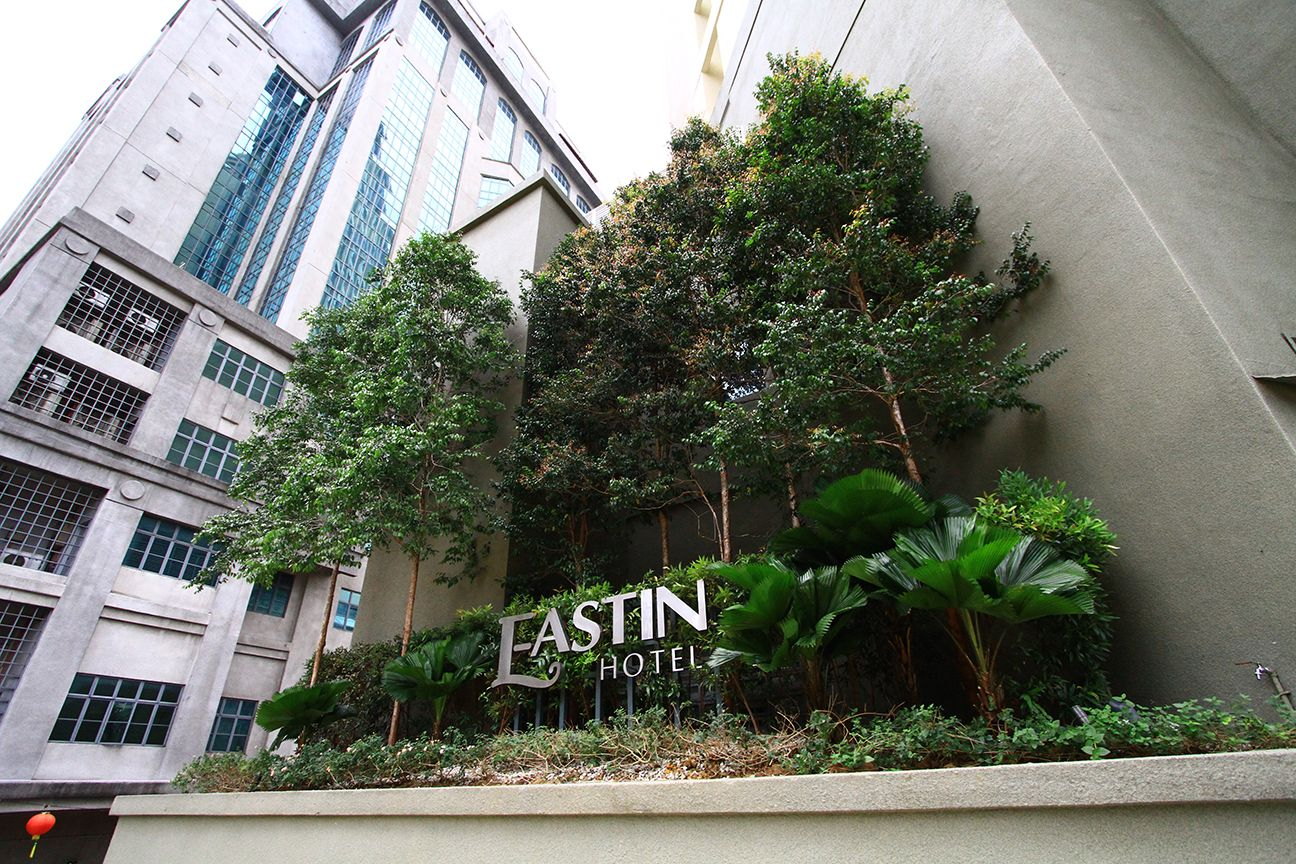 landscape upgrading design at eastin hotel pj, malaysialandart