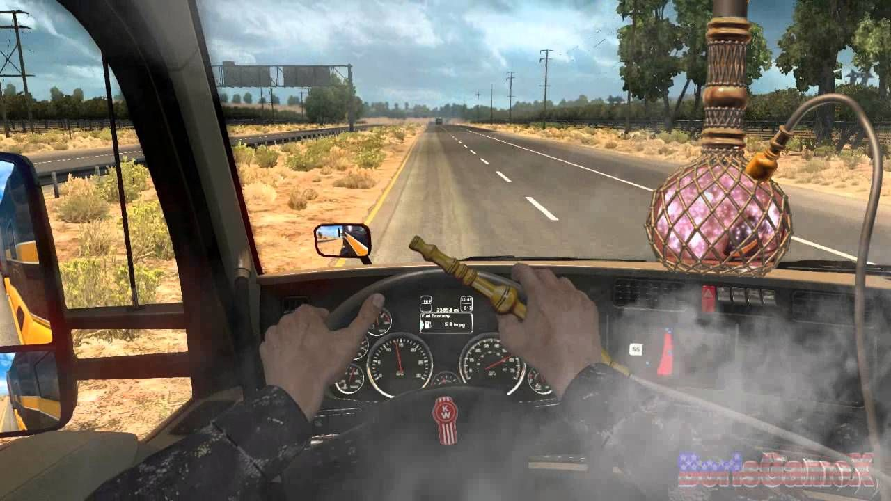 ATS - AMUSING HANDS - First Person Mod Concept - American