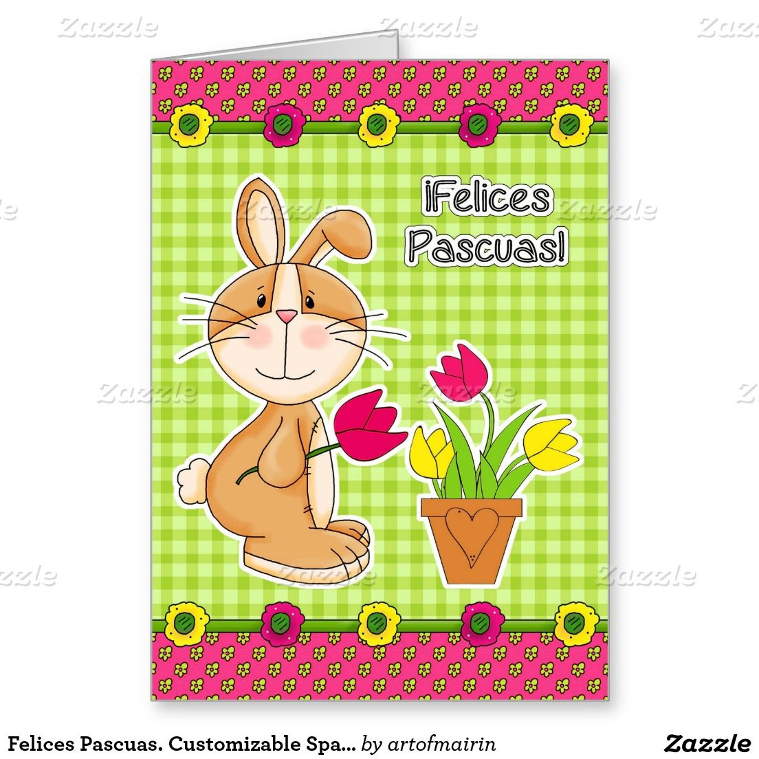 Felices pascuas customizable spanish easter cards funny customizable spanish easter cards kristyandbryce Gallery