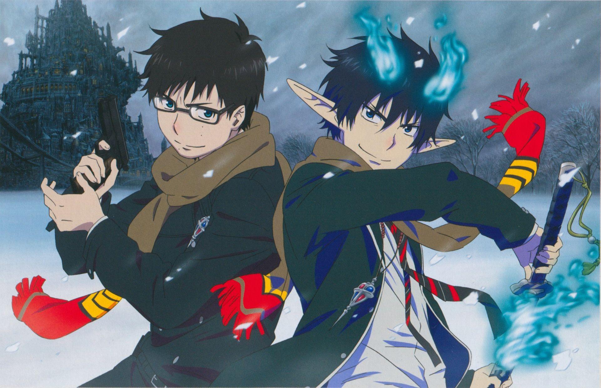 Anime Blue Exorcist Wallpaper Blue Exorcist Anime Blue Exorcist Blue Exorcist Rin