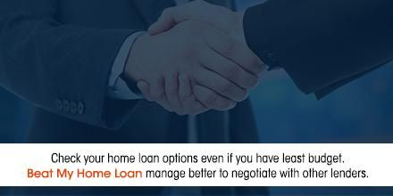 Check your home loan options even if you have least budget. BHML manage better to negotiate with Lenders #homeloan