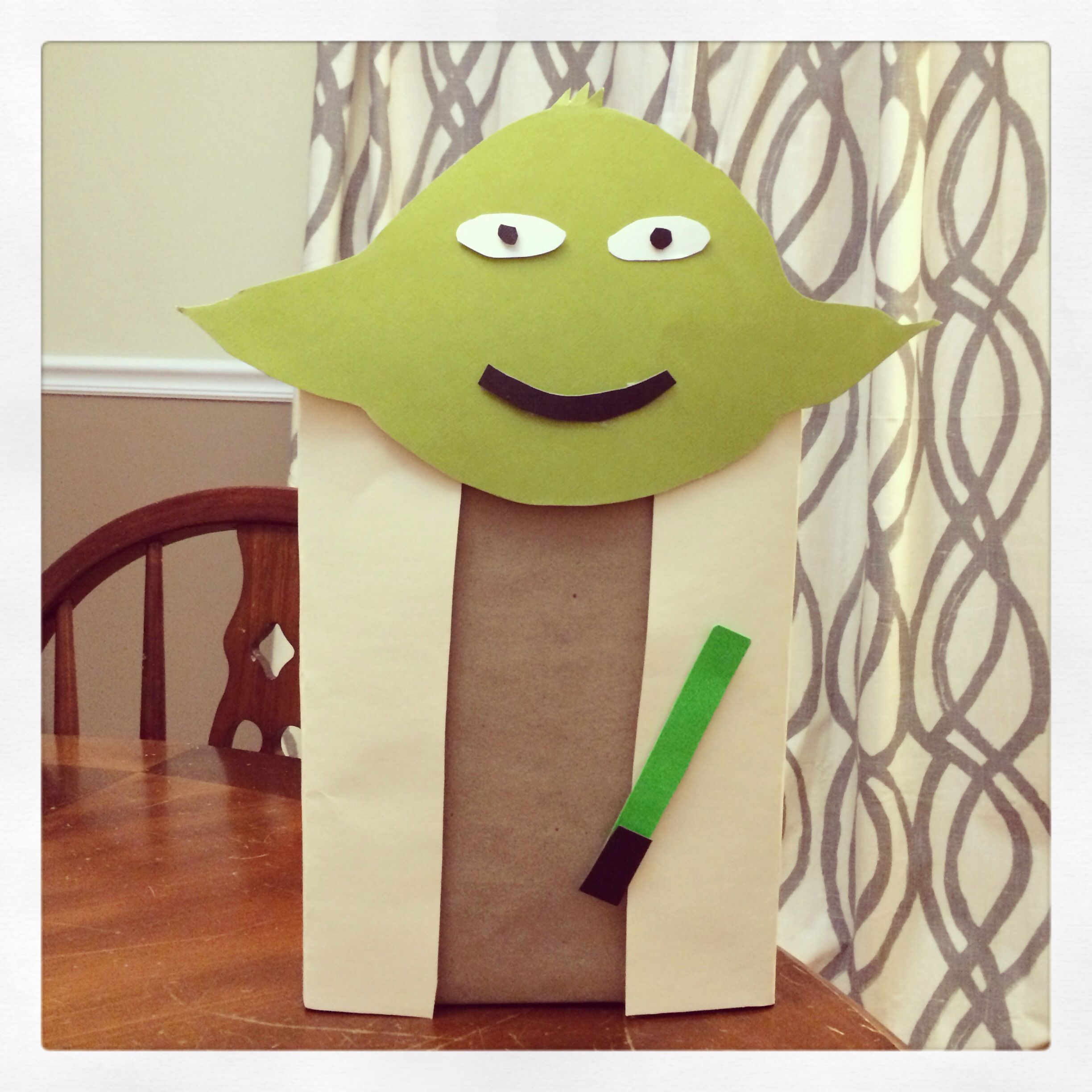 Yoda Valentine Card Box For School