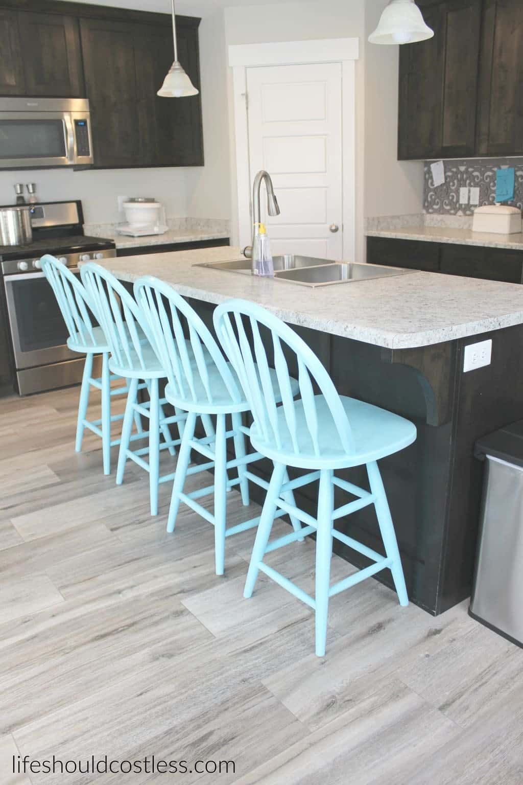 Solid wood or metal kitchen stools are pricey! My family has needed ...