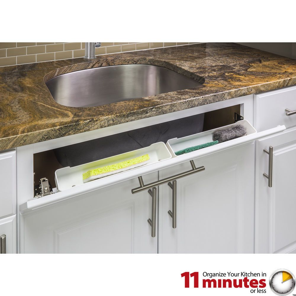 11 Shallow Sink Tip Out Tray Pack 2 Trays Sets
