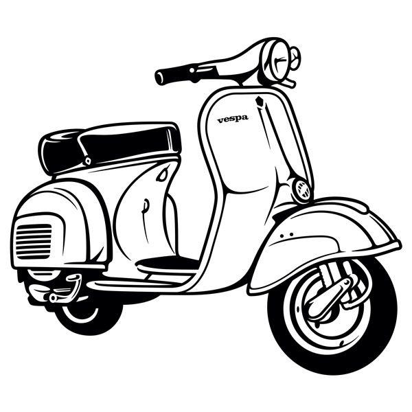 Pin by Djoko on VESPUNKERS t Vespa Vespa scooters