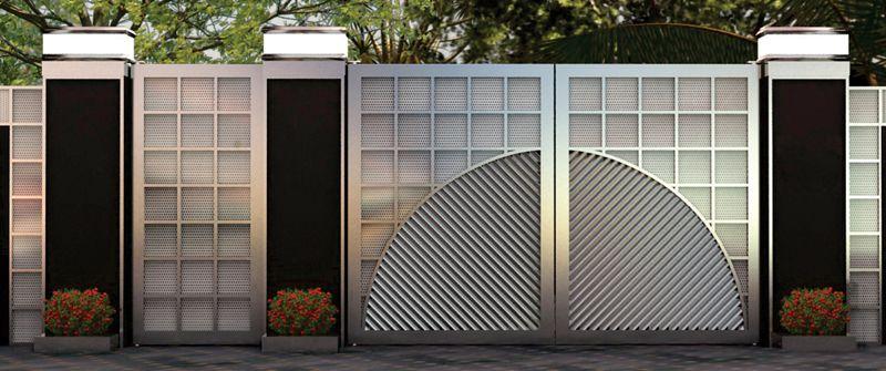 Beautiful gate (With images) | Door design, Exterior door ...