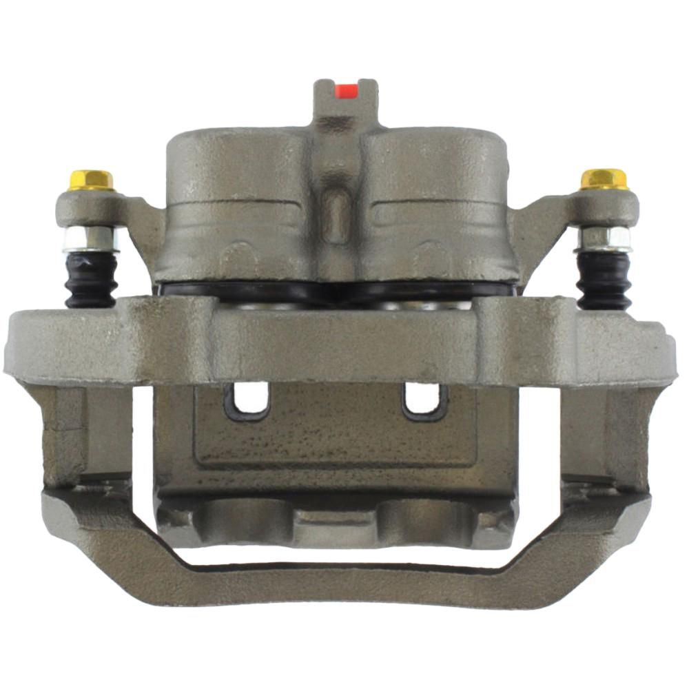 Disc Brake Caliper-Premium Semi-Loaded Caliper Housing and Bracket Front Right